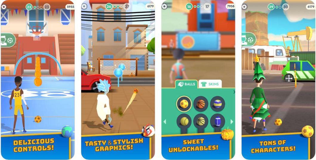 Juego de fútbol para iOS