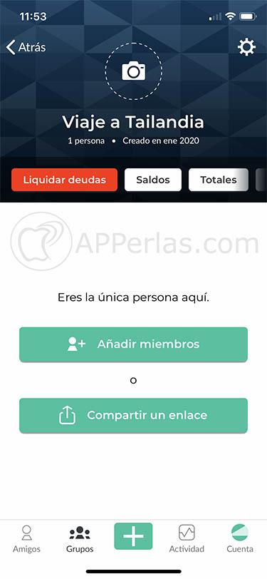 app para dividir gastos splitwise iphone ipad 2