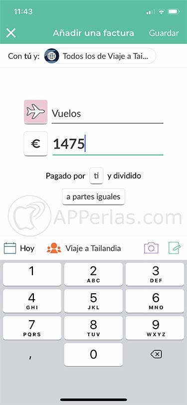 app para dividir gastos splitwise iphone ipad 3