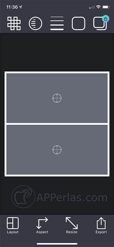 app para juntar fotos pic stitch iphone 3