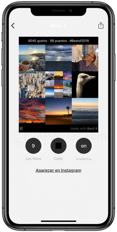 Tus 9 mejores fotos de Instagram