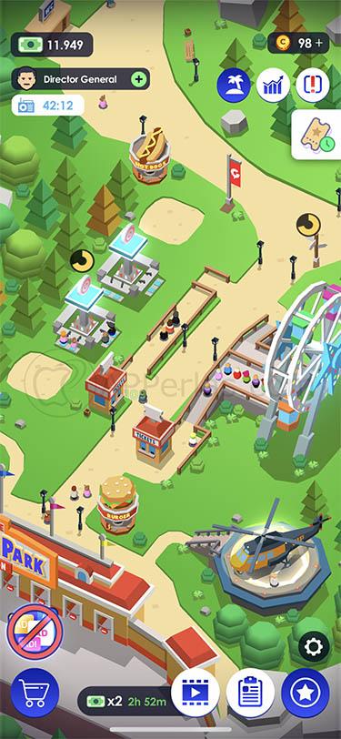 idle theme park 2