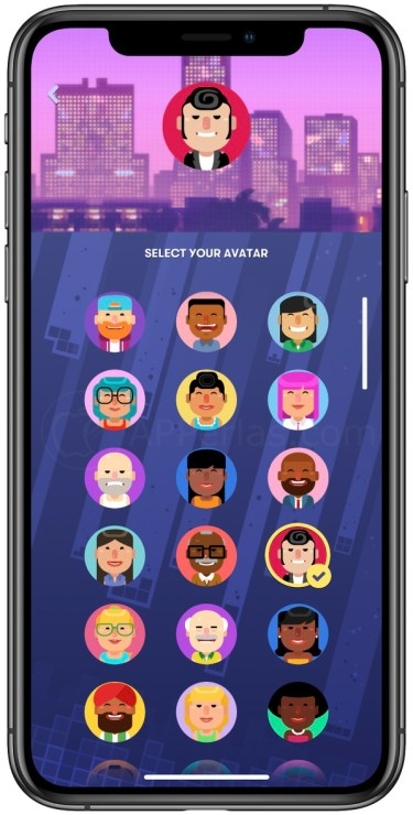 Avatares de Tetris