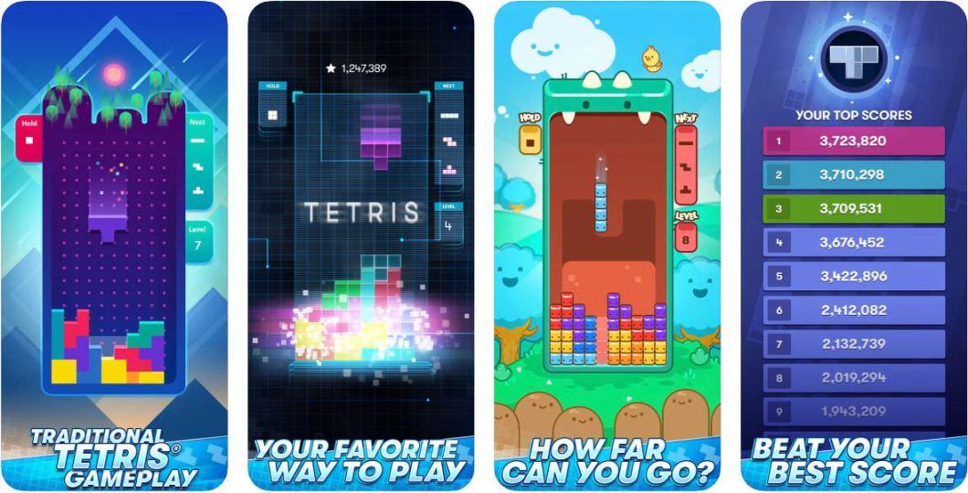 Nuevo juego de Tetris para iOS