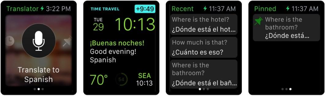 Traductor para Apple Watch
