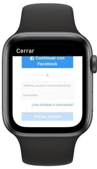 Instagram en el Apple Watch 2