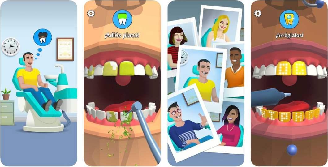 Juego de dentista para iPhone