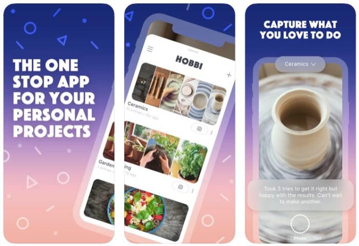 facebook hobbi new app nueva app crear proyectos ordenar compartir fotos 2