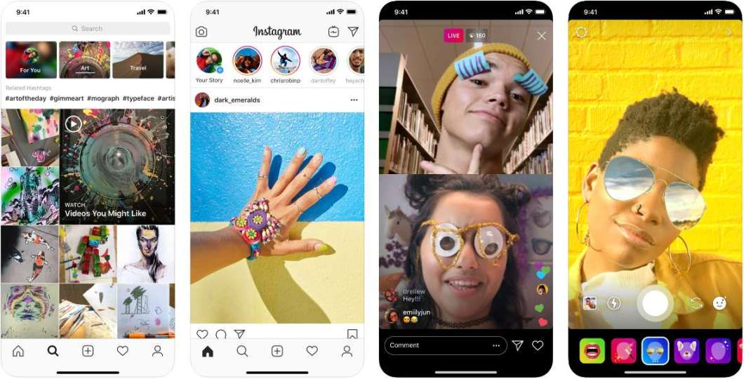 Capturas de Instagram para iPhone