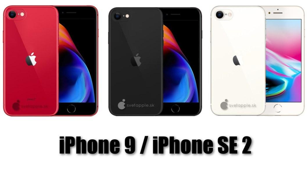 iPhone 9 / iPhone SE 2. Prototipo de svetapple.sk