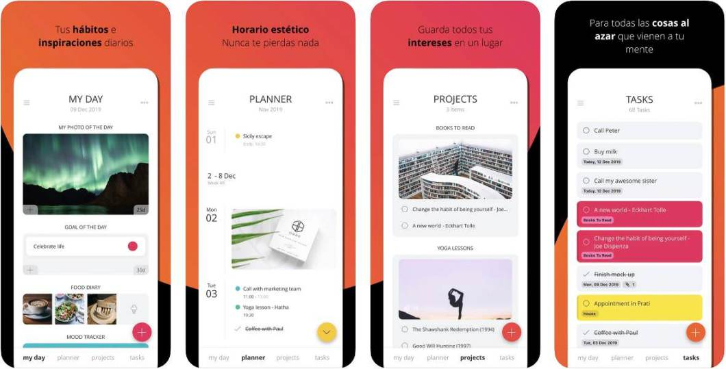 App de productividad para iOS