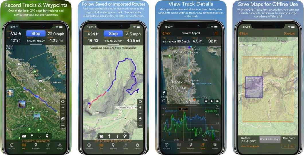 App de GPS para iPhone