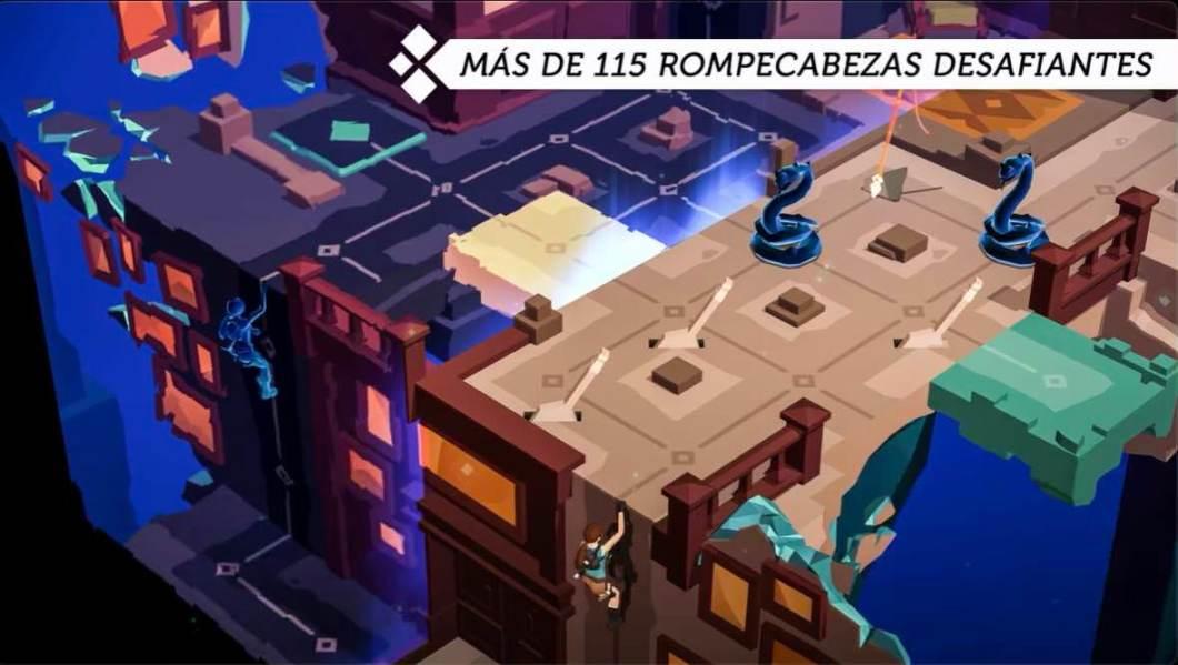 Juego de Lara Croft GO