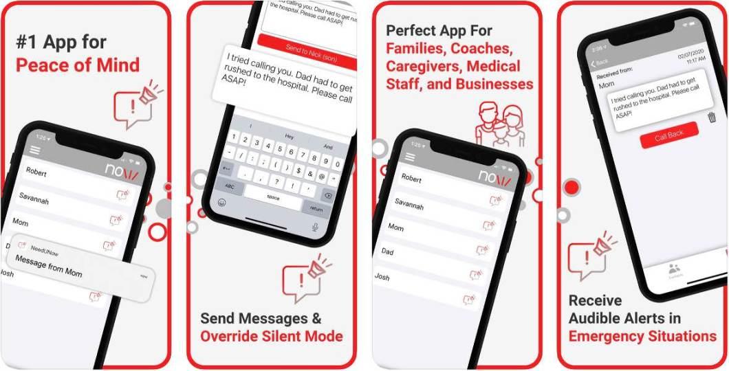 App de mensajería de emergencia