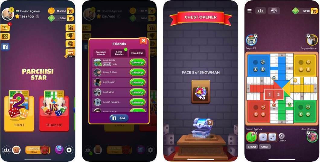 Juego del parchís para iOS