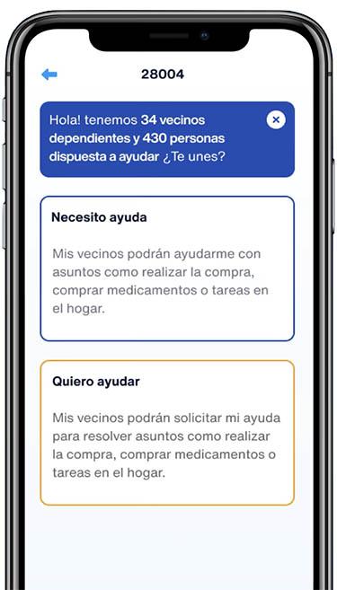 TeAyudo app coronavirus covid19 iphone 4