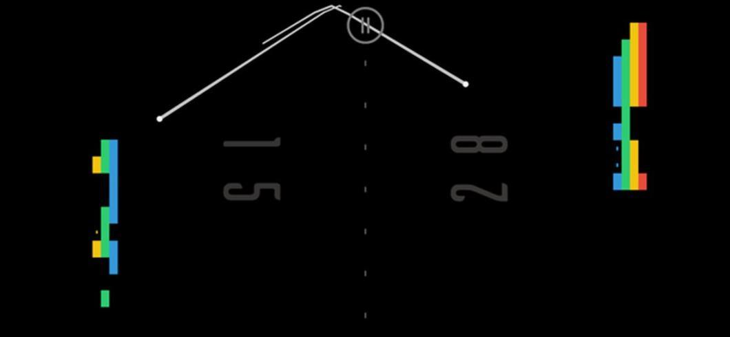 Versión nueva y única del clásico juego de Pong