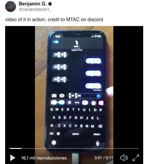 caracteres emoji bloquean iphone
