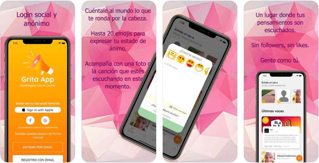 App de desahogo para iOS