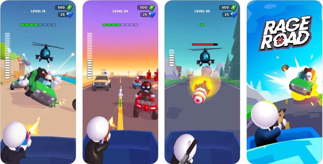 Rage Road, un juego sencillo y divertido