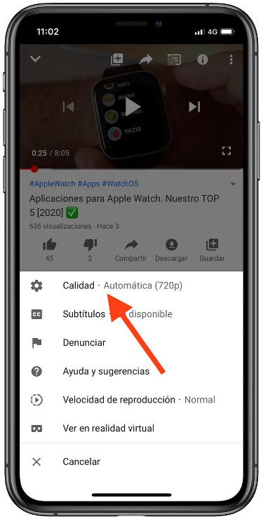 mejorar la calidad de YouTube 2