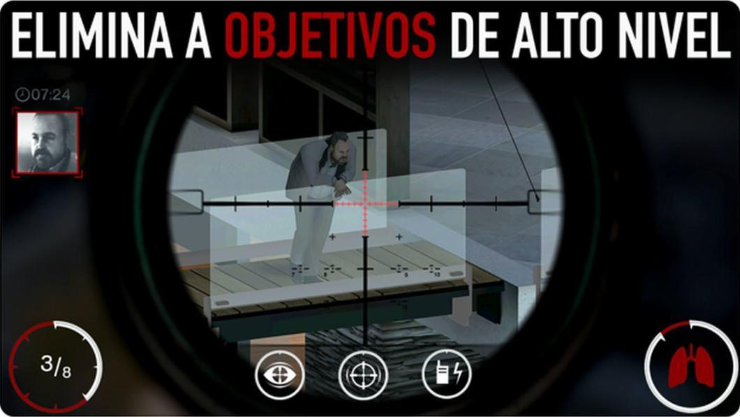 Juego de francotirador para iOS