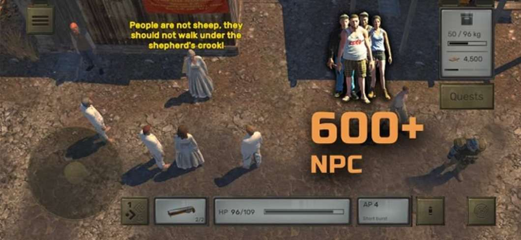 Juego RPG para iPhone