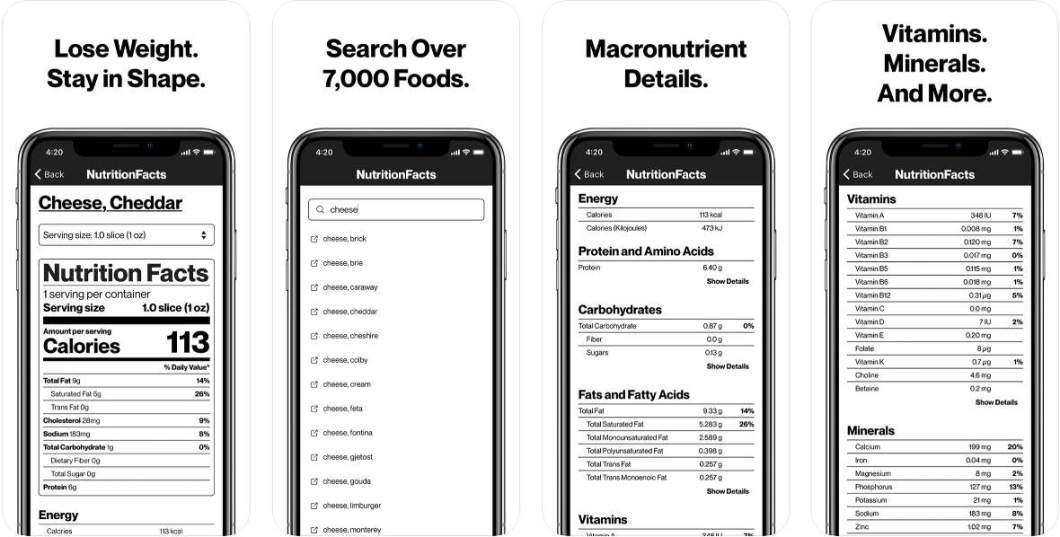 App de información alimentaria