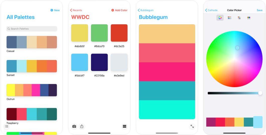 App de gestión de colores