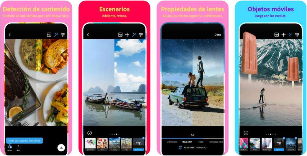 Photoshop Camera para iPhone