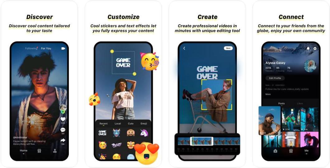 App de vídeo Zynn