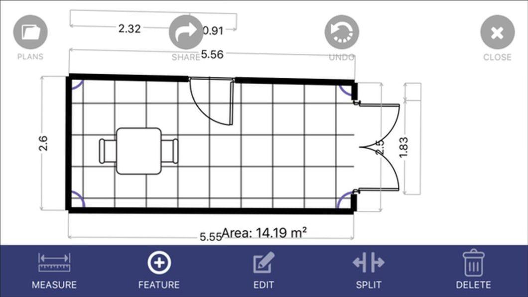 App para crear planos