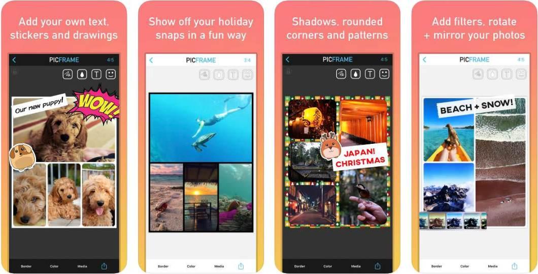 App para crear composiciones fotográficas