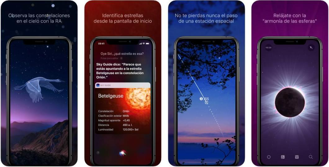 App de astronomía