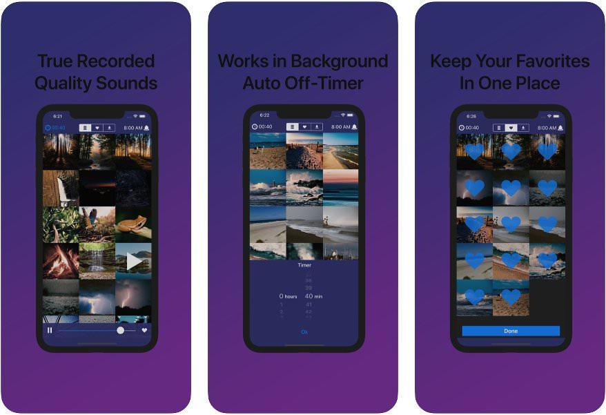 App Sleep Sounds