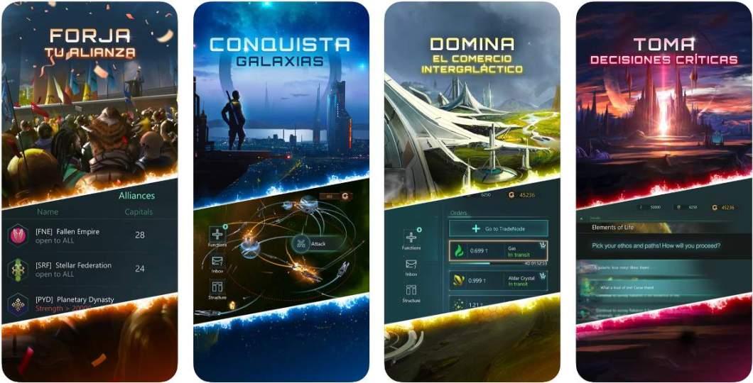 Juego Stellaris para iOS