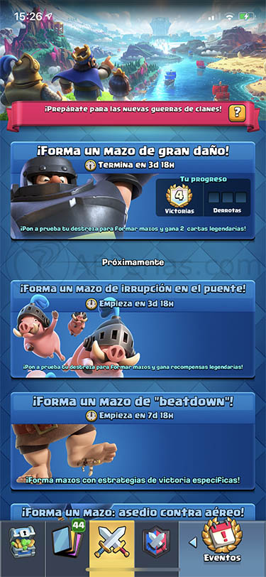 temporada 14 de Clash Royale 1