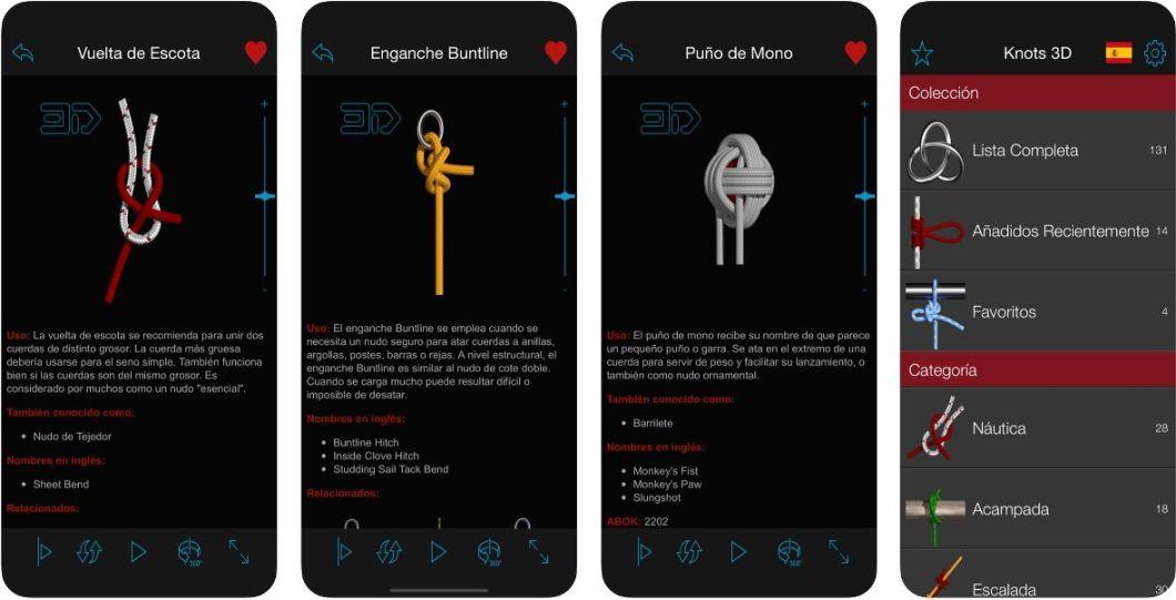 Aprende a hacer nudos con esta app para iPhone