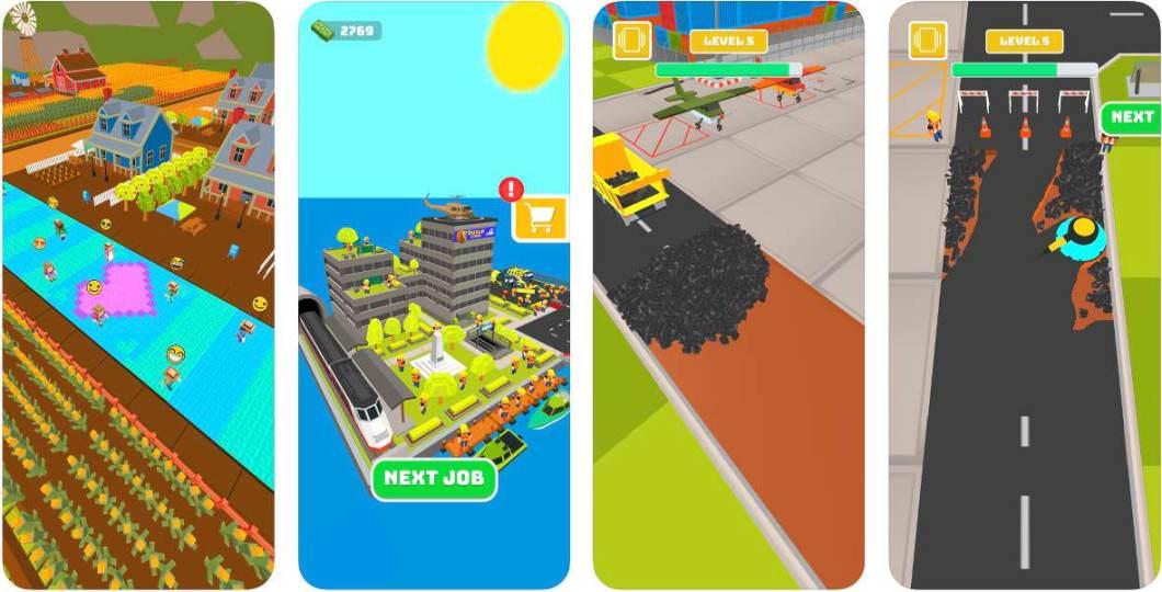 Juego de construcción para iOS