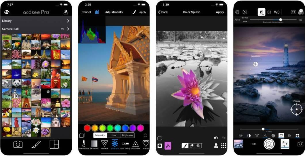 App de fotografía para iOS