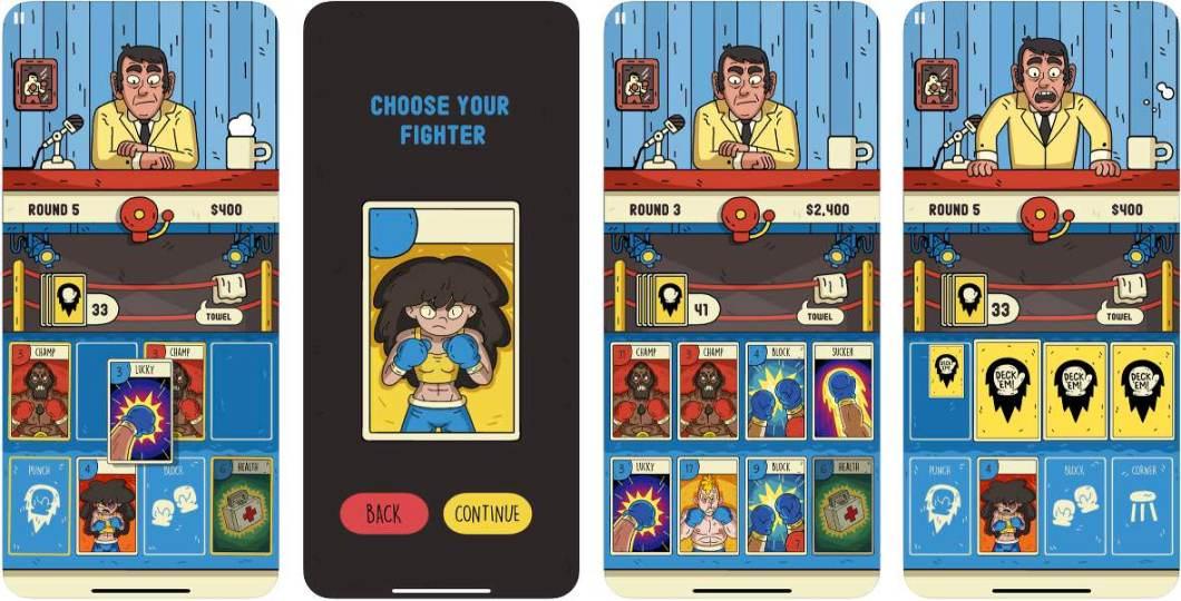 Juego de cartas para iPhone