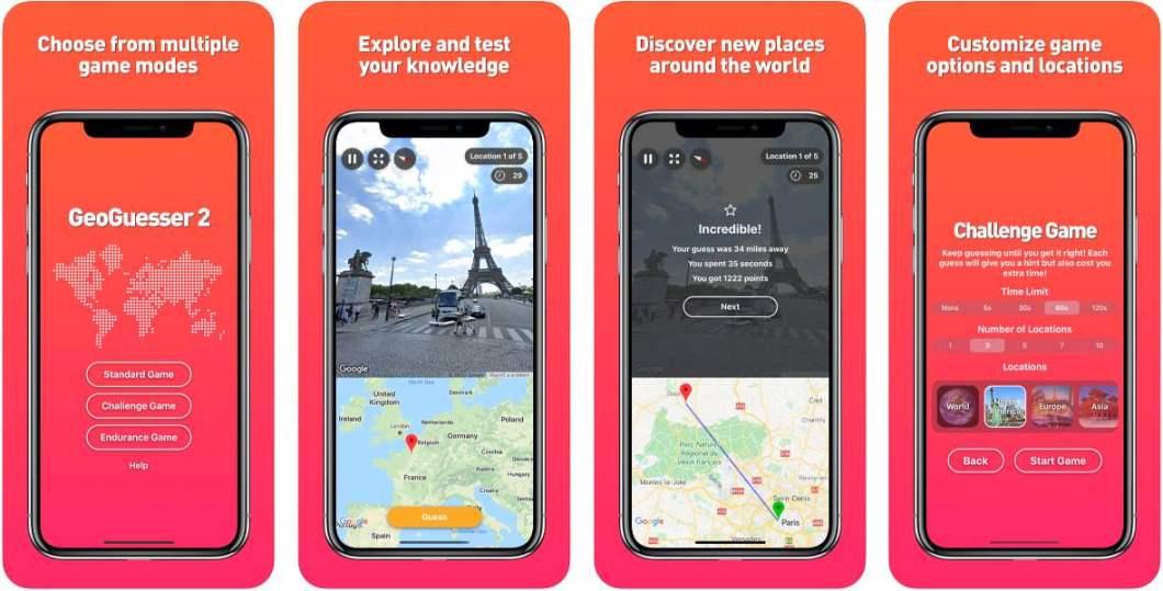 App Geoguesser para iOS