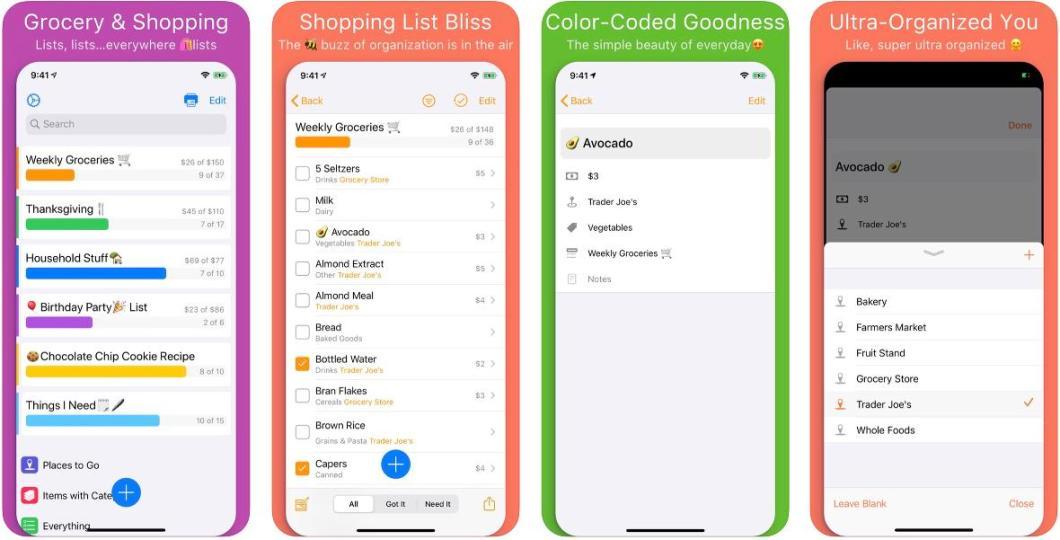La lista de la compra en tu iPhone