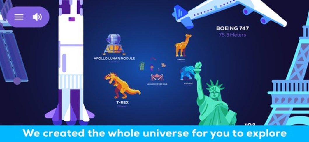 Explora el universo de un vistazo