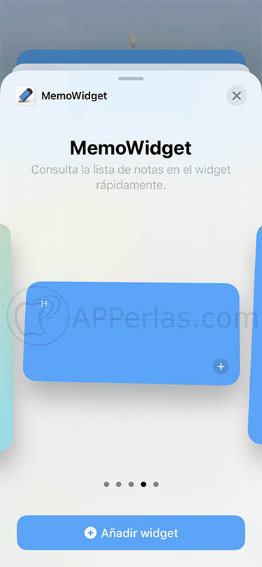 widgets de notas ios 14 iphone ipad memowidget 3