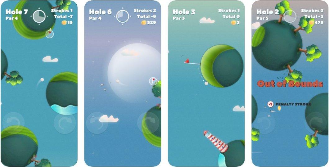 Juego de golf para iOS