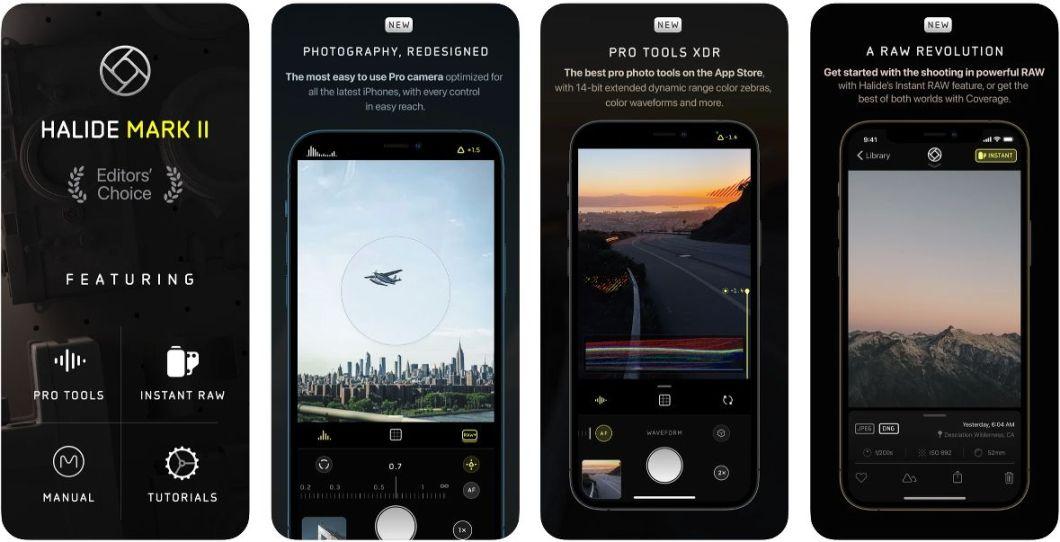 HALIDE II, una app de fotografía con nuevas funciones