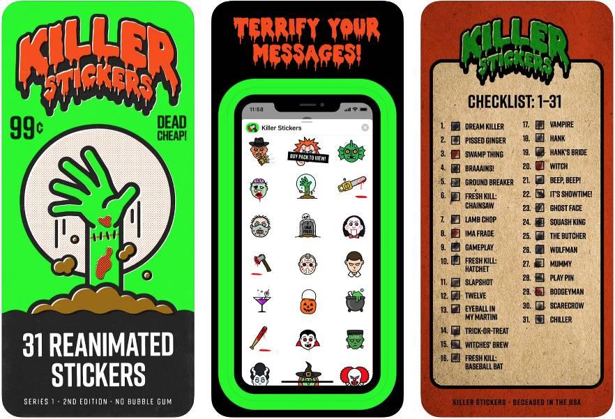 Stickers para celebrar Halloween