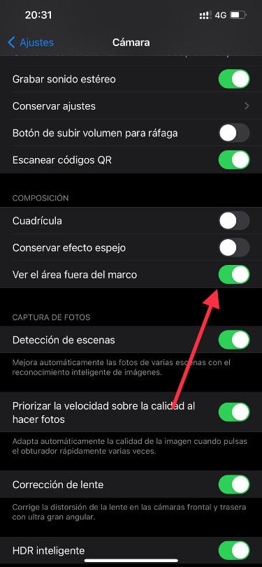iPhone camera full screen 1