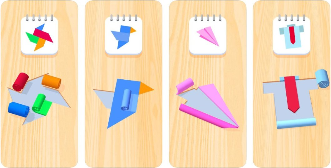 Juego Color Roll 3D para iPhone